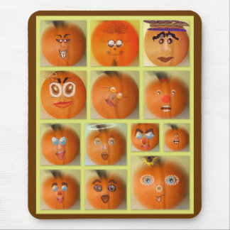 The Pumpkin Patch Mouse Pad