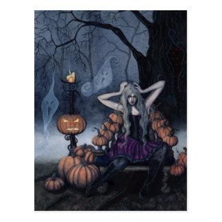 The Pumpkin Queen postcard