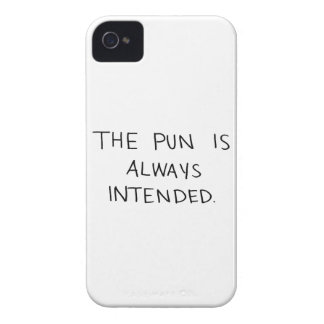 The Pun is Always Intended Case-Mate iPhone 4 Case