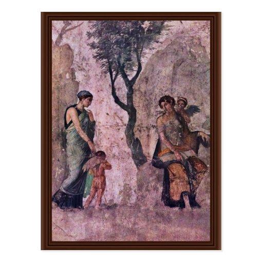 The Punishing Amor By Pompejanischer Maler Um 25 V Post Cards