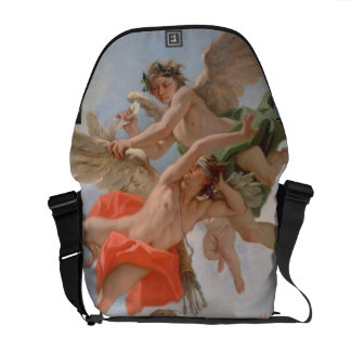 The Punishment of Cupid (oil on canvas) Courier Bag