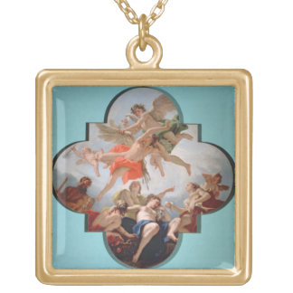 The Punishment of Cupid (oil on canvas) Pendant