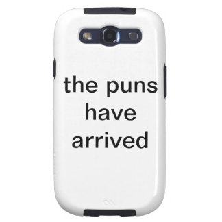 the puns have arrived galaxy s3 covers