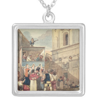 The Puppet Theatre Silver Plated Necklace