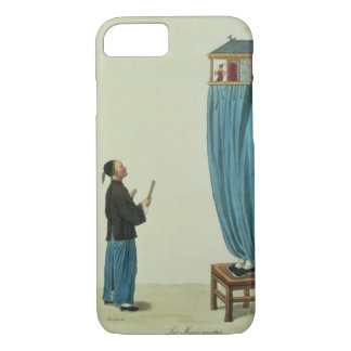 The Puppets, engraved by Mlle. Formentin, pub. 182 iPhone 8/7 Case