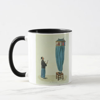The Puppets, engraved by Mlle. Formentin, pub. 182 Mug