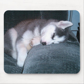The Puppy Sleeps Mouse Pad