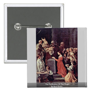 The Purification Of The Virgin By Reni Guido Pinback Button