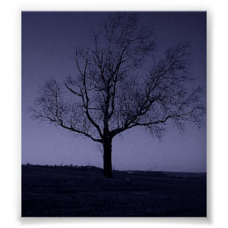The Purle Tree Print