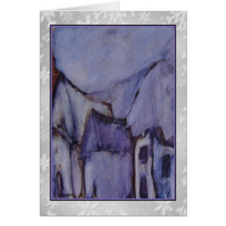 The Purple Hut Art Card