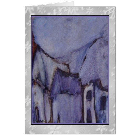 The Purple Hut Art Card