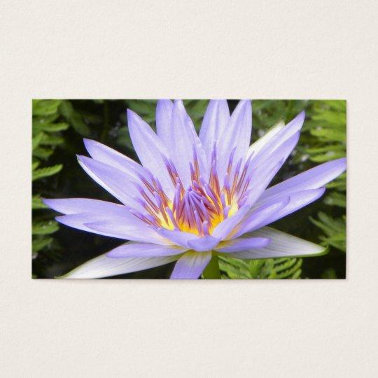 The Purple Lotus Business Card