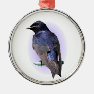 The Purple Martin Christmas Ornament