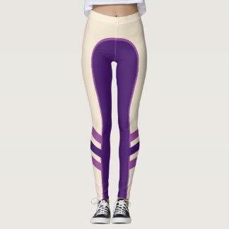 The Purple Principal Side Band Leggings