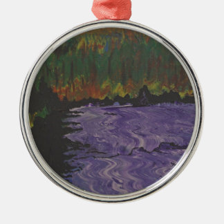 The Purple River Christmas Ornament