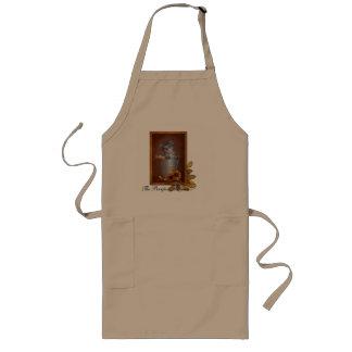 The Purrfect Autumn kitten apron