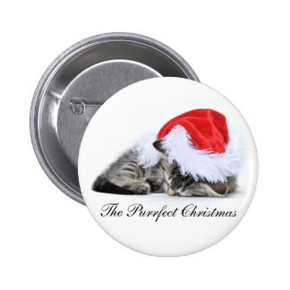 The Purrfect Christmas badge