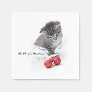 The Purrfect Christmas Napkins Paper Napkin