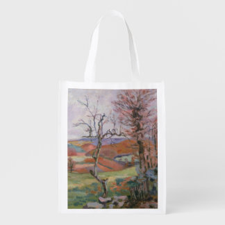 The Puy Barion at Crozant, Brittany (oil on canvas Market Tote