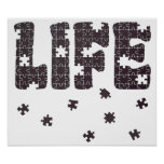 The Puzzle Of Life Poster