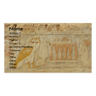 The Pyramid of Djoser , EGYPT, OWL Hieroglyphics Pack Of Standard Business Cards