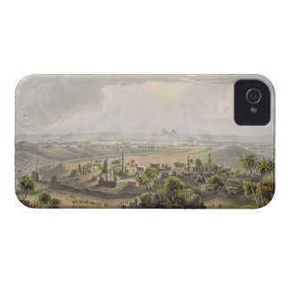 The Pyramids at Cairo, engraved by Daniel Havell ( iPhone 4 Cover