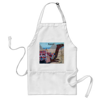 The Pyramids of Giza Painting - Apron
