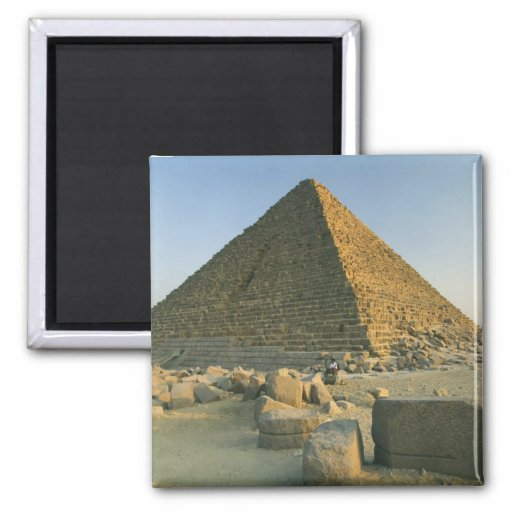 The Pyramids of Giza, which are alomost 5000 2 Refrigerator Magnet