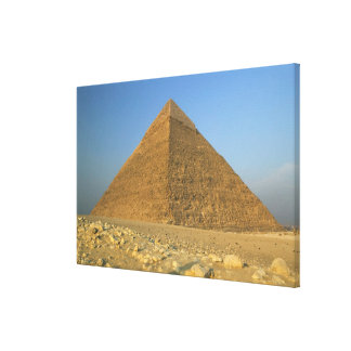 The Pyramids of Giza, which are alomost 5000 Canvas Print