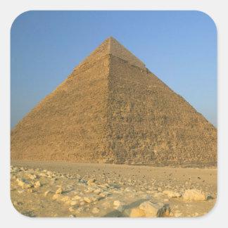 The Pyramids of Giza, which are alomost 5000 Square Sticker