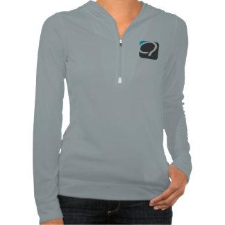 The Q Half-Zip for Women - Quaero Blue Hoodies