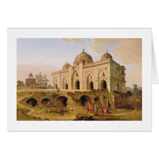 The Qal' A-l-Kuhna Masjid, Purana Qila, Delhi, c.1 Card