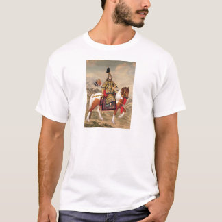 The Qianlong Emperor in Ceremonial Armour T-Shirt