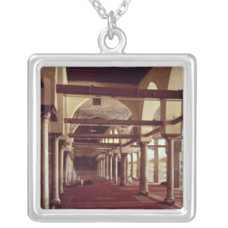 The Qibla Liwan of the Mosque of Al-Azhar Personalized Necklace