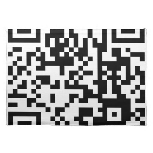 The QR Code Placemat