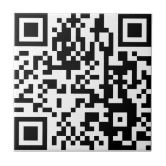 The QR Code Small Square Tile