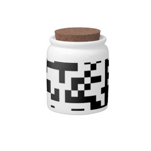 The QR Code Candy Dish