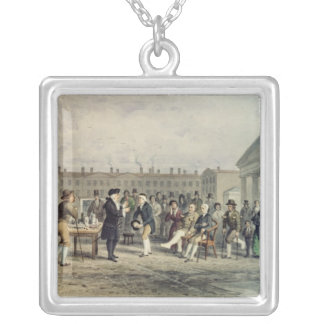 The Quack Doctor, 1857 Silver Plated Necklace