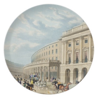 The Quadrant, Regent Street, from Piccadilly Circu Party Plates