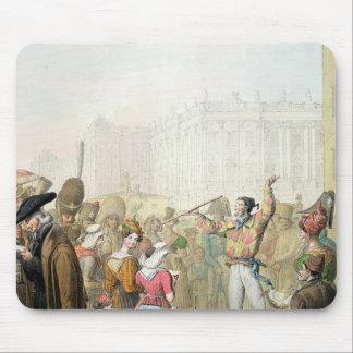 The Quai d'Ecole, Paris, 1831 Mouse Pad