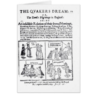 The Quakers Dream Card
