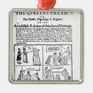 The Quakers Dream Christmas Ornament