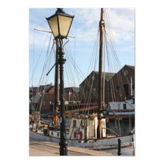 The Quay, Exeter, Devon, UK 13 Cm X 18 Cm Invitation Card