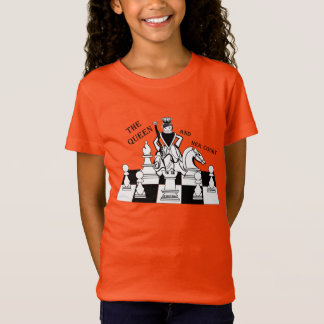 The Queen and Her Court, Girls Youth t-Shirt, T-Shirt