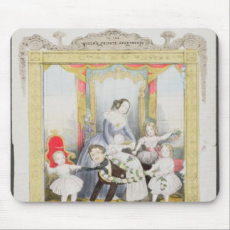 The Queen and Prince Albert at Home Mouse Mat