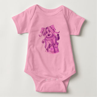 The Queen by Lewis Carroll Purple Tint Tees
