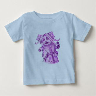 The Queen by Lewis Carroll Purple Tint Tshirt