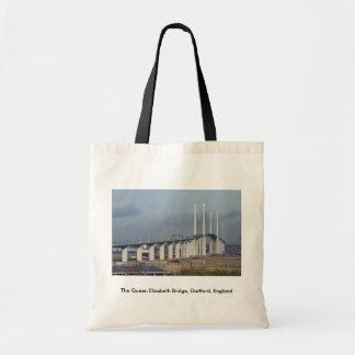 The Queen Elizabeth Bridge, Dartford, England Bags