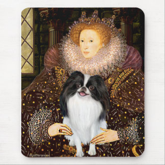 The Queen - Japanese Chin 3 Mouse Pad