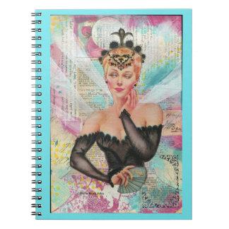 The Queen Journal in Aqua Notebooks